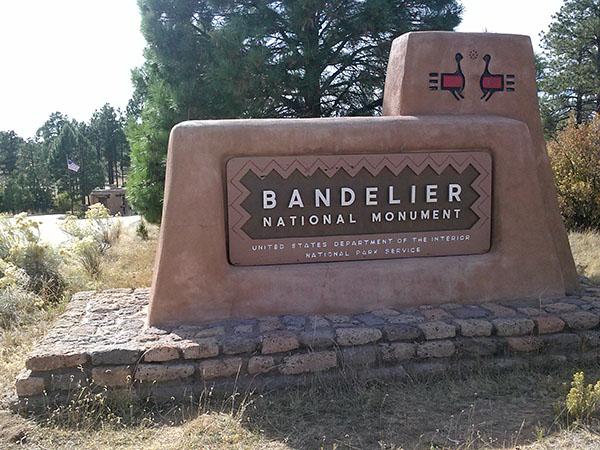 Anasazi Backpack Bandelier National Monument